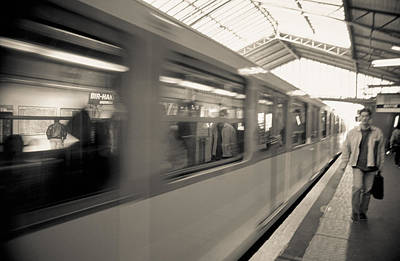 Photograph - Metro Line 6 by Matthew Pace