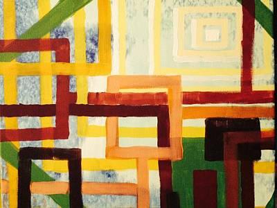 Multimedia Painting - Metro M-33 by Edward Paul