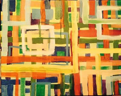 Multimedia Painting - Metro S-21 by Edward Paul