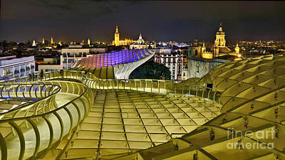 Photograph - Metropol Parasol - Sevilla - Spain by Carlos Alkmin