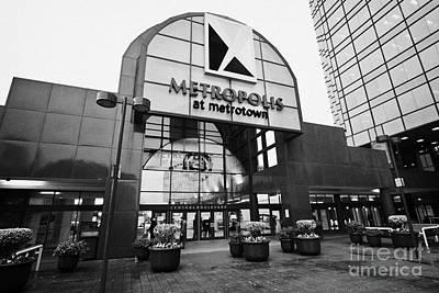 metropolis at metrotown shopping mall Vancouver BC Canada Art Print by Joe Fox