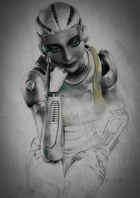 Noir Digital Art - Metropolis by Bob Orsillo