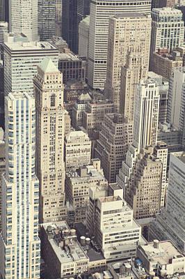 New York Skyline Photograph - Metropolis by Irene Suchocki