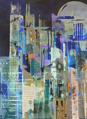 Painting - Metropolis by Katie Black
