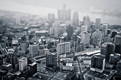 Photograph - Metropolis by Mike Lanzetta