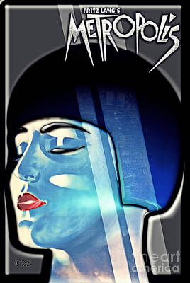 Icon Mixed Media - Metropolis by Mo T