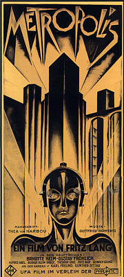 Metropolis Poster Art Print by Gianfranco Weiss