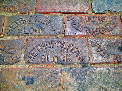 Metropolitan Block Art Print