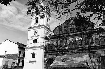 Photograph - Metropolitan Cathedral Mono by John Rizzuto
