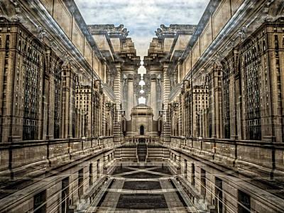 Photograph - Metropolitan Museum Palindrome by Dave Beckerman