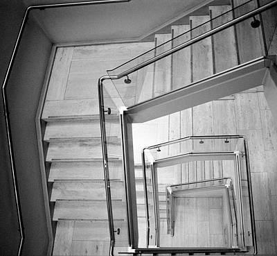 Photograph - Metropolitan Stairs 1 by Cornelis Verwaal
