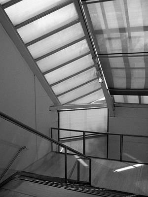 Photograph - Metropolitan Stairs 2 by Cornelis Verwaal