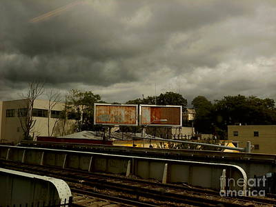 Art Print featuring the photograph Metropolitan Transit by Miriam Danar