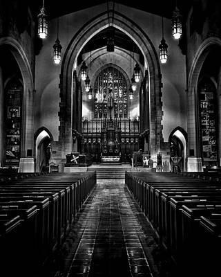 Metropolitan United Church 1 Toronto Canada Art Print by Brian Carson