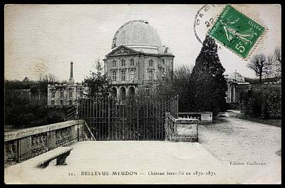 Meudon Grand Lunette Observatory Art Print by Detlev Van Ravenswaay