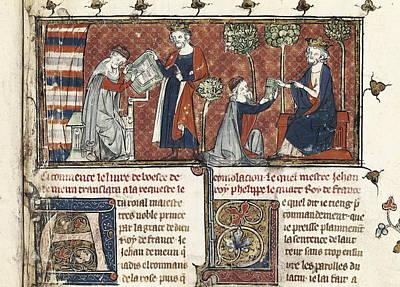 Boethius Photograph - Meung, Jean De 1240-1305 Philip Iv by Everett