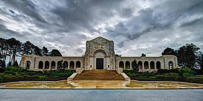 Chapel Photograph - Meuse-argonne Tribute by Chad Dutson