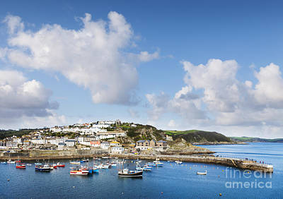 Mevagissey Cornwall England Print by Colin and Linda McKie