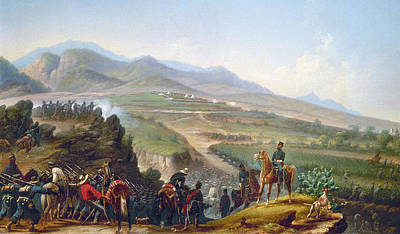 Mexican Army, 1846-1848 Art Print by Granger