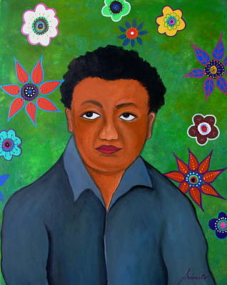 Painting - Mexican Artist Diego Rivera by Pristine Cartera Turkus