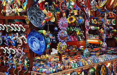 Photograph - Mexican Arts And Crafts by Marilyn Hunt