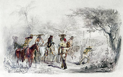 Thief Painting - Mexican Bandits by Granger