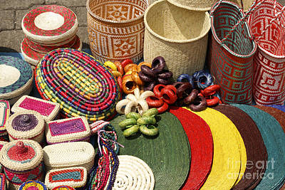 Photograph - Mexican Basketry by John  Mitchell