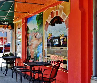 Photograph - Mexican Cafe by VLee Watson