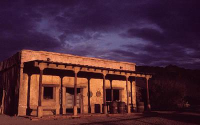 Mexican Cantina Photograph - Mexican Cantina Rio Lobo Set Old Tucson Arizona 1971-1980 by David Lee Guss