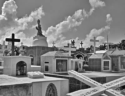 Photograph - Mexican Cemetery  by Sarah Mullin