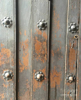 Photograph - Mexican Church Door by Cindy Lee Longhini