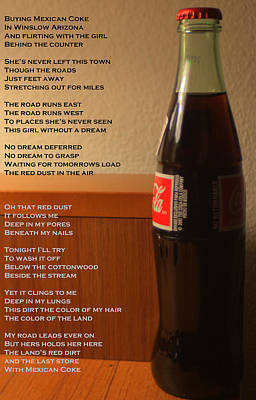 Photograph - Mexican Coke by Joshua House