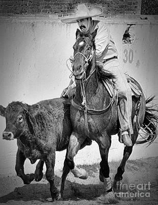 Mexican Cowboy Art Print