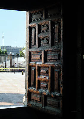 Photograph - Mexican Door 35 by Xueling Zou