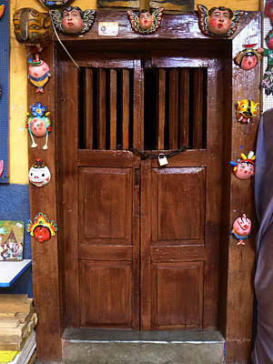 Photograph - Mexican Door 55 by Xueling Zou