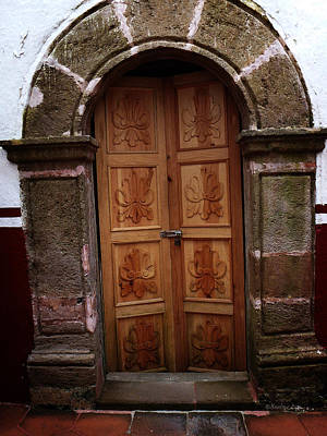 Photograph - Mexican Door 56 by Xueling Zou