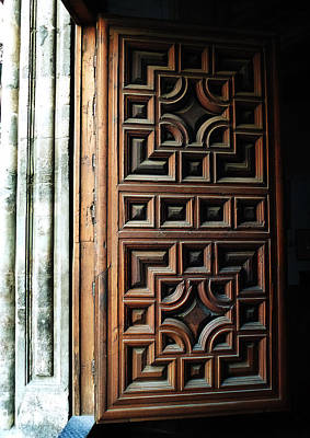 Photograph - Mexican Door 64 by Xueling Zou