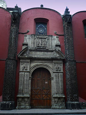 Photograph - Mexican Door 65 by Xueling Zou