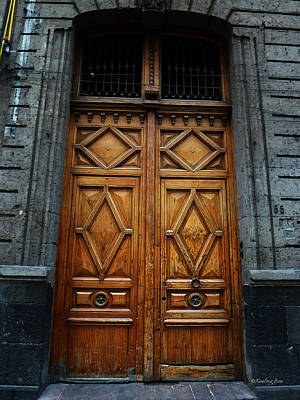 Photograph - Mexican Door 68 by Xueling Zou