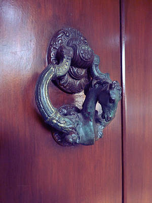 Photograph - Mexican Door Decor 9 by Xueling Zou