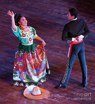 Photograph - Mexican Folk Dance 12 by Rachel Munoz Striggow