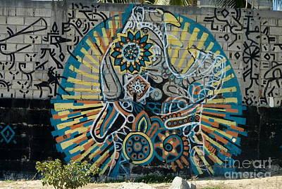 Anna Duyunova Art Photograph - Mexican Graffiti by Anna  Duyunova