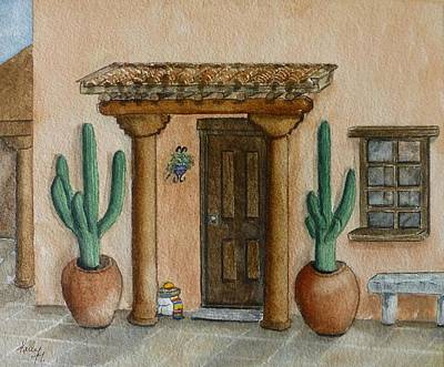 Painting - Mexican Hacienda by Kelly Mills