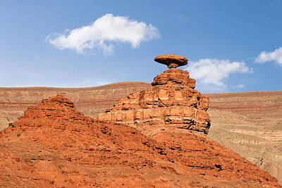 Pillar Photograph - Mexican Hat Rock by Christine Till