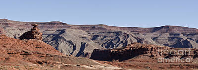 Photograph - Mexican Hat Utah Panorama by Dave Gordon