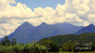 Photograph - Mexican Mountains 1 by Rachel Munoz Striggow