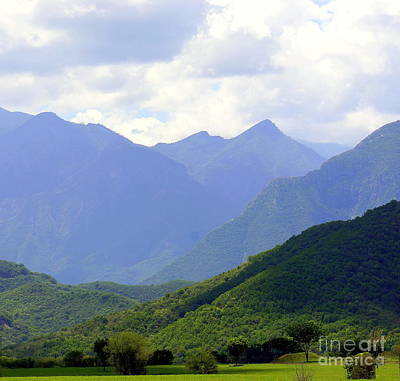 Photograph - Mexican Mountains 2 by Rachel Munoz Striggow