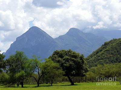 Photograph - Mexican Mountains 4 by Rachel Munoz Striggow