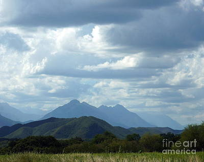 Photograph - Mexican Mountains 9 by Rachel Munoz Striggow