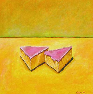 Painting - Mexican Pink Cake by Manny Chapa